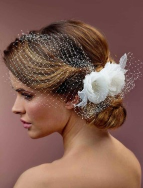 Fascinator BB-356 | Bruidsaccessoires | Honeymoonshop | Poirier