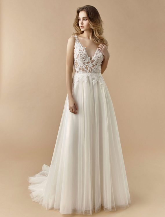 Trouwjurk kopen BT20-26 van Beautiful by Enzoani bij Honeymoonshop
