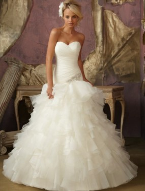 Trouwjurk 1856 Mori Lee