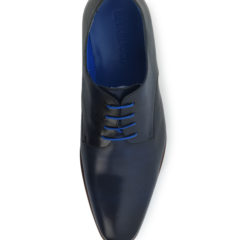 Oscar Dark Blue Calf Leather 4