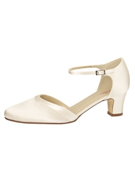 Bruidsschoen Anika | Bruidsaccessoires | Elsa Coloured Shoes | Satijn | Honeymoonshop